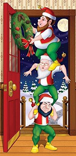 Beistle-Christmas-Elves-Door-Cover