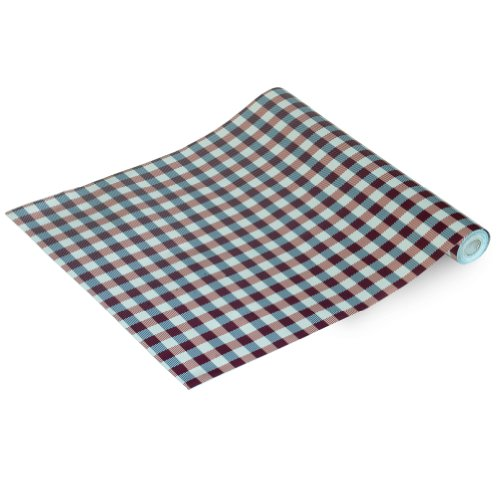 Carbin Plaid - Self-Adhesive Wallpaper Home Decor(Roll) front-442099