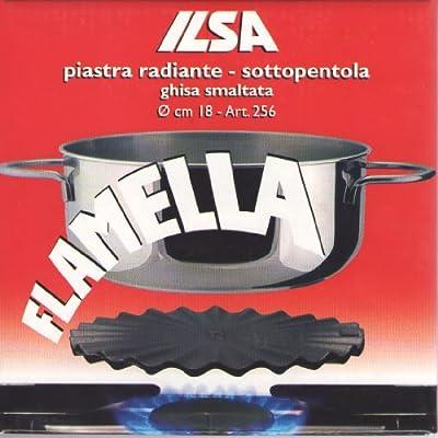 Ilsa - Flamella - Heat Diffuser Enamelled Cast-iron - Cm 18