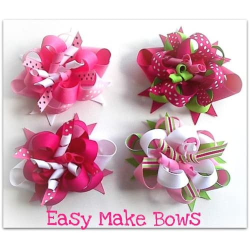 kids craft hair bow maker kit