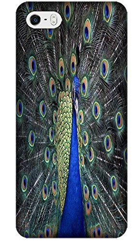 Apple Accessories Beautiful Peacock Cell Phone Cases Design Special For iPhone 5/5S No.4