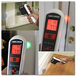 Black & Decker Thermal Leak Detector - Energy Saver - Heat Loss - Drafts - Draining - TLD100 by Black & Decker