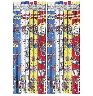 Curious George Birthday Pencils 144 Pack Review