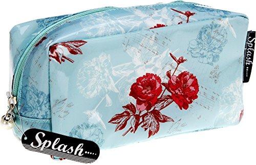 Case Custodia con listello decorativo sul fiore sulla chiusura poposh pastell - azzurro