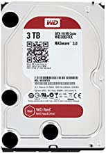 WD Red 3TB NAS Hard Drive: 1 to 8-bay RAID Hard Drive: 3.5-inch SATA 6 Gb/s, IntelliPower, 64MB Cache WD30EFRX