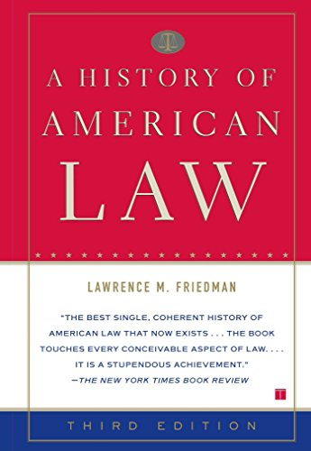 A History of American Law