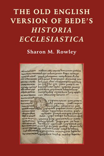 The Old English Version of Bede's Historia Ecclesiastica (Anglo-Saxon Studies)