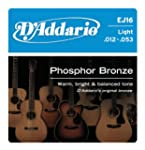 D'Addario EJ16 Phosphor Bronze Light...