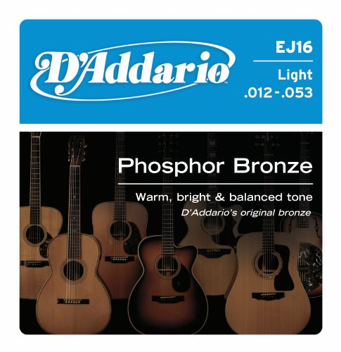 D'Addario EJ16 Phosphor Bronze Acoustic Guitar
