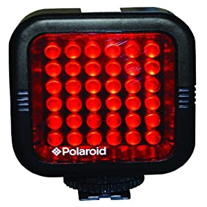 Polaroid Studio Series Rechargeable Ir Night Light 36 Led Light Bar For Camcorders Digital Cameras & Slr's