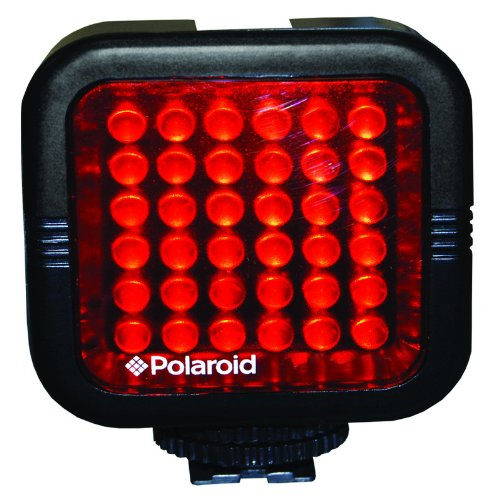 Polaroid Studio Series Rechargeable Ir Night Light 36 Led Light Bar For Camcorders, Digital Cameras & Slr'S