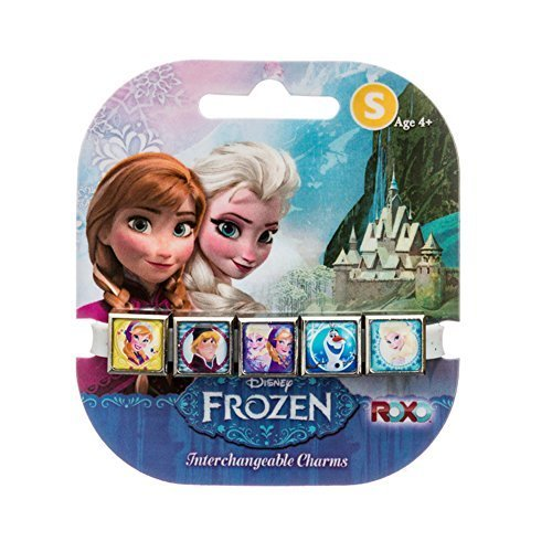 Roxo Disney Glitter Frozen 5 Charm Band - Medium (7 inches)