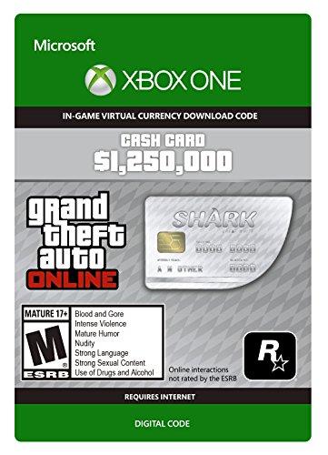 GTA V Great White Shark Cash Card - Xbox One Digital Code (Shark Xbox compare prices)