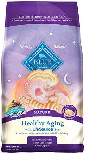 BLUE Buffalo Healthy Aging Chicken & Brown Rice For Mature Cats