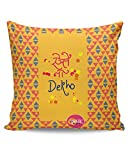 PosterGuy Aise Na Dekho Funny Quote Cushion Cover