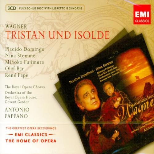 TRISTAN Domingo ANTONIO PAPPANO Imported