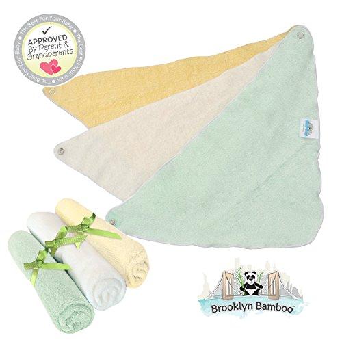 Brooklyn Bamboo 3 Piece Swaddle Unisex Organic Blankets