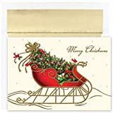 Holiday Sleigh Christmas Cards