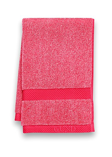 GUND Melange Hand Towel, Gund Red, 16'' By 26''
