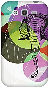 The Racoon Grip From Another World hard plastic printed back case / cover for Samsung Galaxy Grand Neo