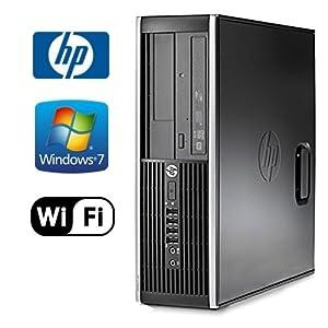 HP 8200 Elite Desktop - Intel Quad Core i5 3.10 GHz, 16GB DDR3, NEW 1TB HD, Windows 7 Pro 64-Bit, WiFi, DVD-ROM (Prepared By ReCircuit)