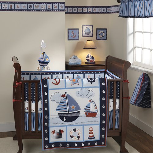 nautical nursery ideas crib bedding for boys bedtime baby