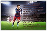 Styzzy Lionel Messi Quotes Poster - FC Barcelona Football Team Poster Paper Print -2