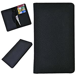 DCR Pu Leather case cover for Alcatel Idol OT-6030A (black)