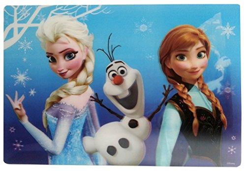 Frozen-Disney-Tischunterlage-Eisknigin-Platzdeckchen-Tischmatte-Unterlage-blau