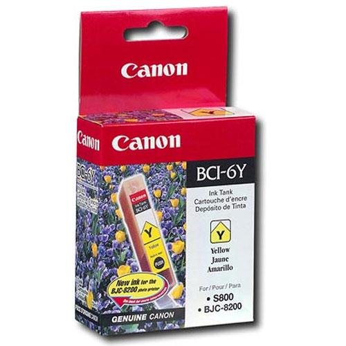 Canon 4708A003 BCI-6Y Ink Tank (Yellow)