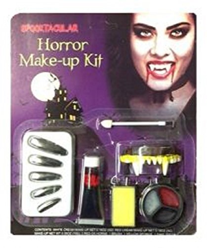Halloween Vampiress Horror Make-up Kit (Vampiress Makeup)