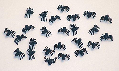 25-halloween-deko-spinnen-2cm-schwarz