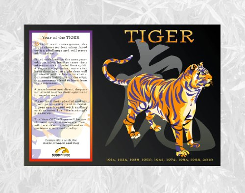 Asian-Oriental-Chinese-Zodiac-Poster-Year-of-the-Tiger-Birth-Years-1914-1926-1938-1950-1962-1974-1986-1998-2010