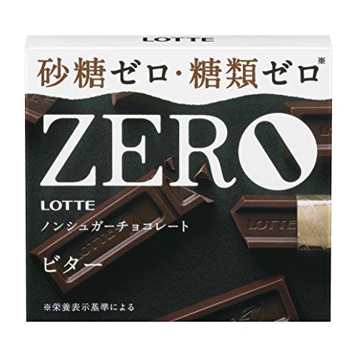 ロッテ ゼロ<ビター> 50g×10個