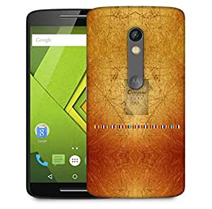 Snoogg Css Crème Designer Protective Phone Back Case Cover For Motorola Moto X Play