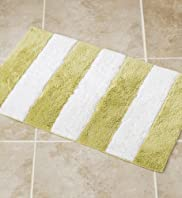 Riviera Stripe Bath & Pedestal Mats [T36-8405M-S]