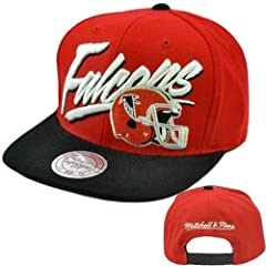 NFL Mitchell Ness Vintage Vice Script Snapback Hat Cap Wool Atlanta Falcons NE99 by Mitchell & Ness