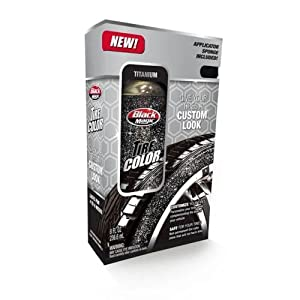 Black Magic 120024 Tire Wet Silver Spray - 8 oz. from Black Magic