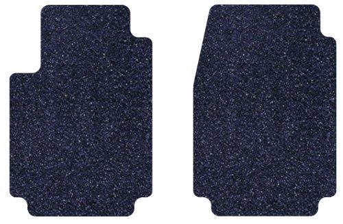 Intro Tech Designer Front Custom Fit Floor Mat Dark Blue