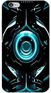 AURRA 3D DESIGNER PRINTED MOBILE BACK COVER FOR I Phone 6 PLUS