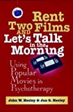 img - for Rent Two Films and Let's Talk in the Morning: Using Popular Movies in Psychotherapy by John W. Hesley (1998-01-29) book / textbook / text book