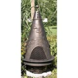 Garden Style Chiminea Finish: Gold Accent