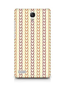 Amez designer printed 3d premium high quality back case cover for Xiaomi Redmi Note 4G (Heart Texture)