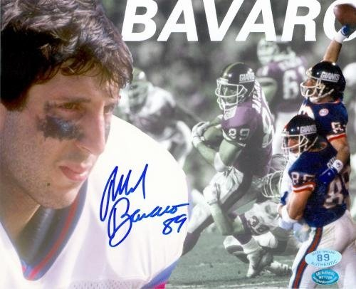 Mark Bavaro Autographed/Hand Signed 8x10 Photo (New York Giants) Image #6 at Amazon.com