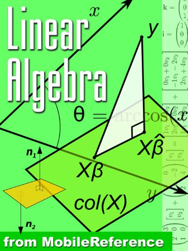 Linear Algebra Study Guide - FREE chapters on Linear Equations, Determinant, and more in the trial version (Mobi Study Guides)