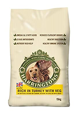 Harringtons Complete Turkey and Vegetables Dry Mix Dog Food, 2 kg