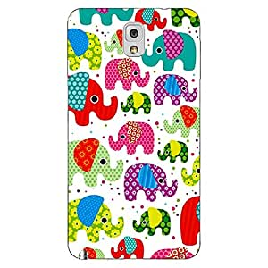 Jugaaduu Baby Elephant Pattern Back Cover Case For Samsung Galaxy Note 3 N9000