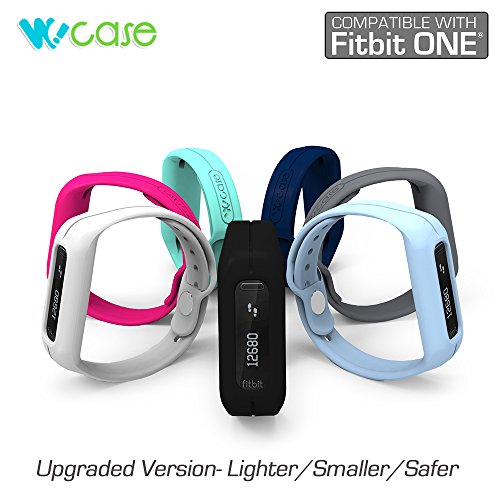 WoCase OneBand Fitbit ONE Accessory Wristband Bracelet (Navy,One size, fits most wrist, 2015 Lastest Version) for Fitbit ONE Activity and Sleep Tracker (Turn Your Fitbit ONE into Wearable FLEX/FORCE/CHARGE, Gift Ready Retail Package)