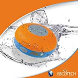 Abco Tech Water Resistant Wireless FM Radio Bluetooth Shower Speaker With Suction Cup And Hands-Free Speakerphone...