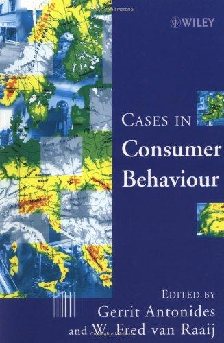 Fällen des Verbraucherverhaltens